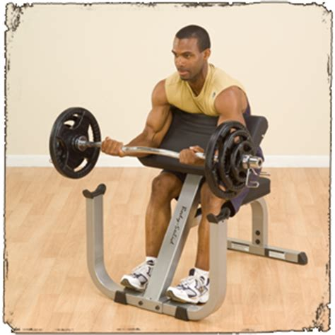 seated barbell curl biceps curl seated solid fitness