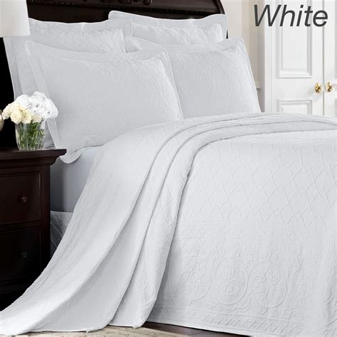 williamsburg coverlet richmond matelasse bedspread by williamsburg