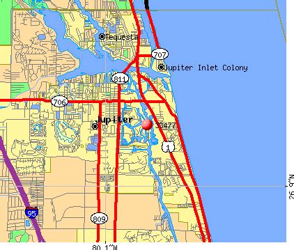jupiter florida zip code map