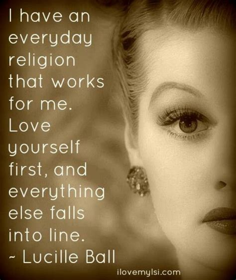 i love lucy quotes my religion is love lucille ball from i love lucy life