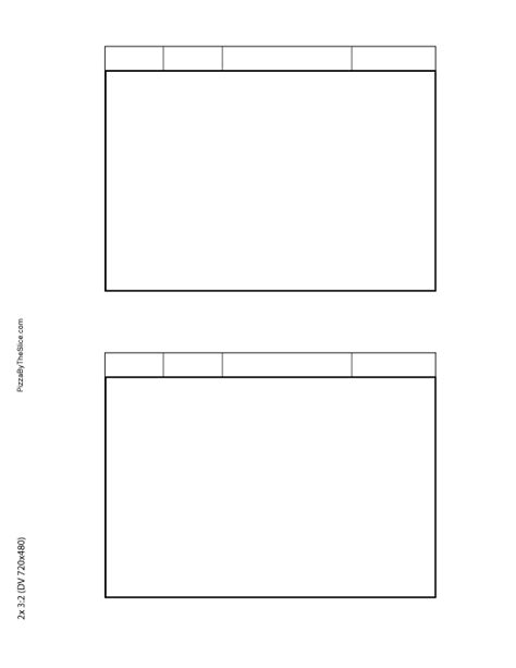 free story board template free storyboard template coloring pages