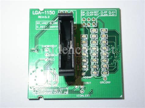 Cpu Kühler Sockel 1150 Test by New Laptop Lga 1150 Lga 1150 Loading Board Test Card Cpu Socket Tester In Integrated