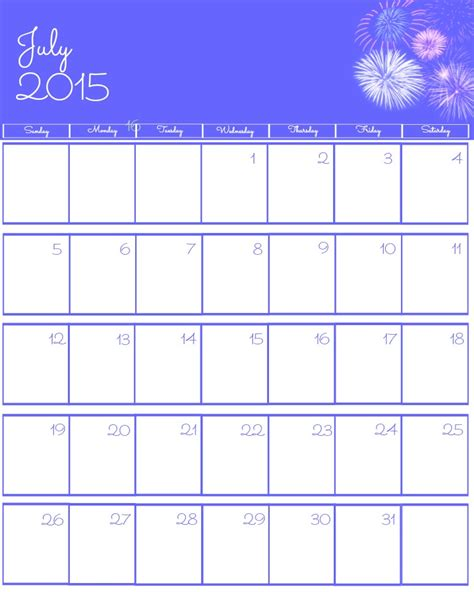 printable schedule july 2015 april printable calendar july 2015