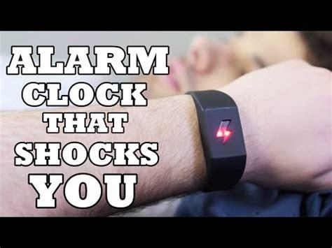 alarm clock that shocks you