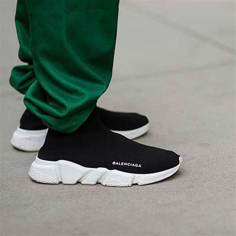 Sepatu Balenciaga Speed Trainer Original trend to try snockers the sock sneaker hybrid