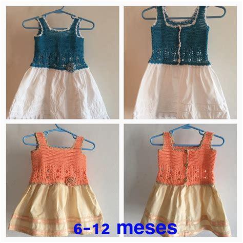 Vestidos Para Nias Con Tejido | vestidos de ni 241 as tejidos con tela bs 8 000 00 en
