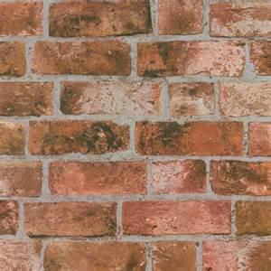 Fine Decor Distinctive Brick Wallpaper Red   eBay