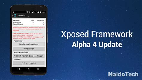xposed framework apk install android n ify xposed module and get android n features on marshmallow and lollipop