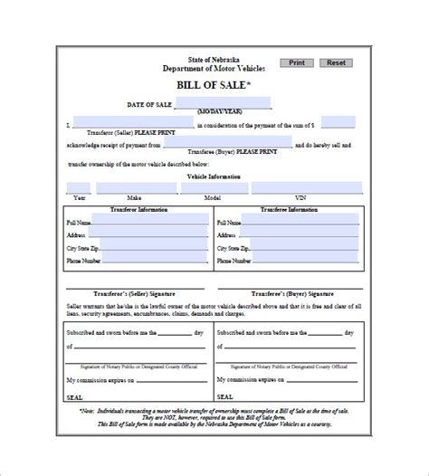 Exle Of Bill Of Sale For Car Beneficialholdings Info Vehicle Bill Of Sale Template Fillable Pdf