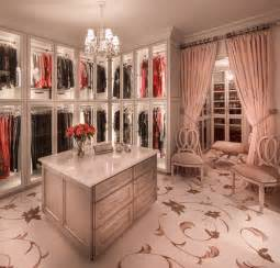 Room lights closet traditional with chandelier closet island curtain
