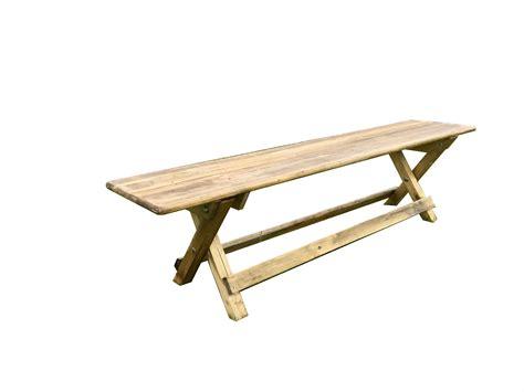 cross leg bench vintage wooden cross legs benches chairman hire
