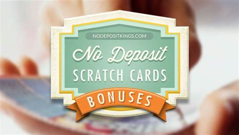 Scratch Games To Win Real Money No Deposit Free Bonuses - no deposit scratch cards bonus and scratchies