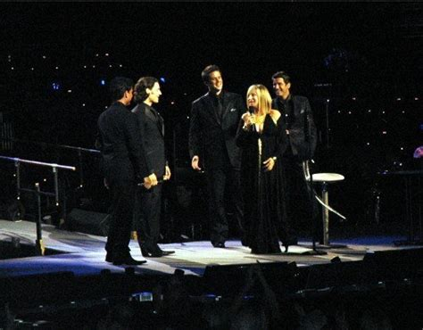 il divo in concert barbra il divo in concert barbra streisand photo
