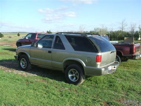 2 Door Blazer by Buy Used 2000 Chevy Blazer Two Door In Fort Cobb Oklahoma