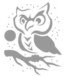 Owl Pumpkin Template by Pumpkin Stencils Owl Cake Ideas And Designs