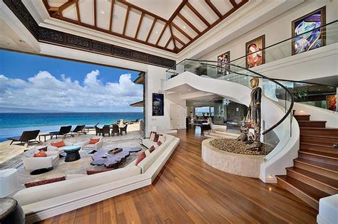 beach house interiors wonderful 1 beach house interiors make a jewel of maui one of the most beautiful houses in the