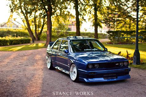 stance bmw e30 the quest to break quot 10 quot johan s turbo e30 m3 stance works