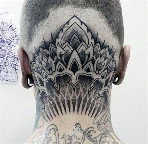 100 head tattoos for men masculine ink design ideas