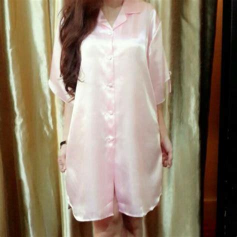 Lihat Baju Tidur Jual Baju Tidur Satin Wanita Satin Silk Shop