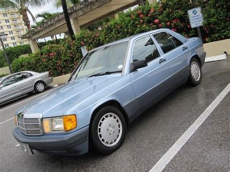 repair anti lock braking 1991 mercedes benz w201 electronic valve timing purchase used 1991 190e 2 6 ultra low miles clean autocheck garage kept florida books records in