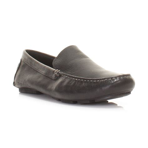 hush puppies shoe sandals mens hush puppies monaco slip on black leather loafers