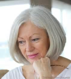 white hair 65 older women short haircuts 2017