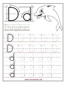 Printable letter d tracing worksheets for preschool xdwlwzg3