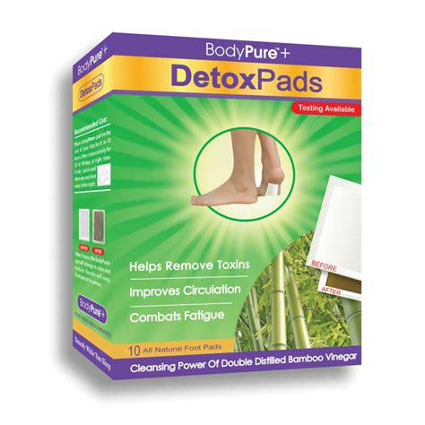 What Is Inside A Detox Patch by Bodypure Detox Pads 10 Pack Ebay