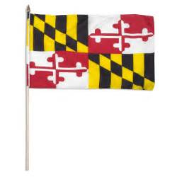of maryland colors maryland flag 12 x 18 inch