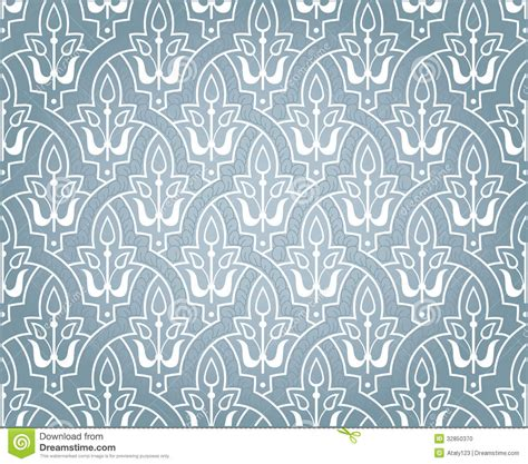 pattern arabian arabic ornament stock vector image of grille background