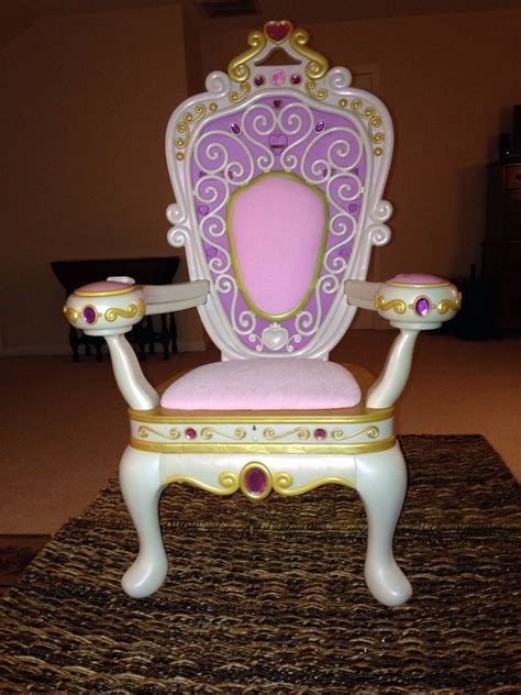 Princess Throne Chair Barbie My Size Throne Musical Jewels Princess Chair Very