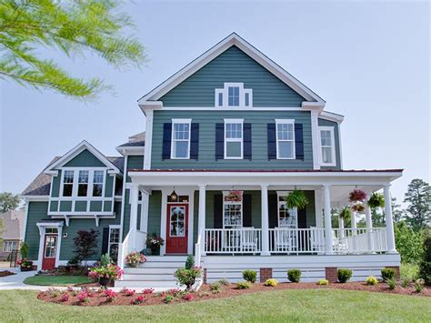 Farmhouse House Plans With Porches | superb farm house plan 8 farmhouse with wrap around porch