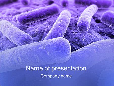 ppt templates free download microbiology bacteria powerpoint template backgrounds id 0000000755