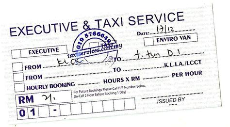 taxi receipt template malaysia pin taxi bill format in mumbai on