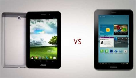 Tablet Asus Vs Samsung Asus Fonepad Vs Samsung Galaxy Tab 2 Voice Calling Tablets Compared Digit In