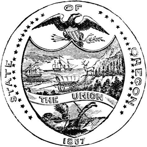 oregon tattoo laws 114 best u s state seals images on seals