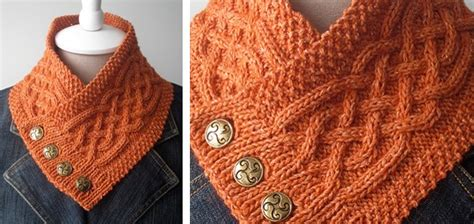 celtic cable knit scarf pattern celtic cable knitted neck warmer free knitting pattern