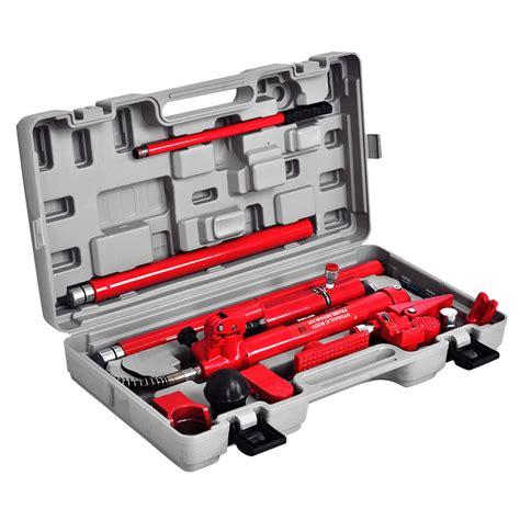 10 ton floor repair 10 ton porta power hydraulic frame repair kit
