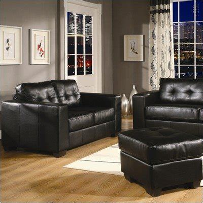 leather sofa in raipur coaster living room sofa 300148 at overstock furniture
