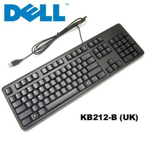 Keyboard Dell dell usb keyboard computer keyboard kb212 for desktop uk layout uk ebay