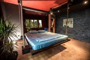 hanging beds for bedrooms hanging beds by wiktor jazwiec gives your room a facelift