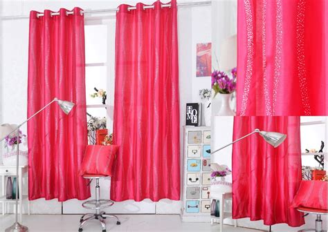 sparkly diamante eyelet ring top silk faux curtain panel