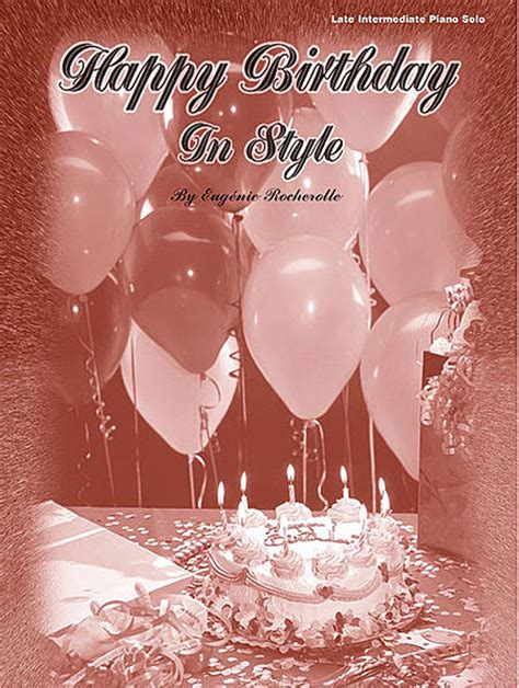 In Style Now Inside Maddoxs Birthday by Happy Birthday In Style Sheet By Eugenie R