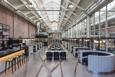 cafe design by gustav hallen 工业风格饭店装修设计 土巴兔装修效果图