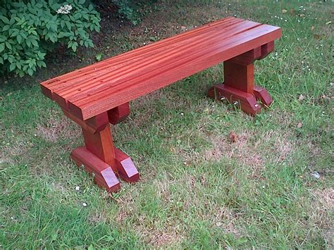 Sapele Hardwood Garden Bench The Wooden Workshop Oakford Devon