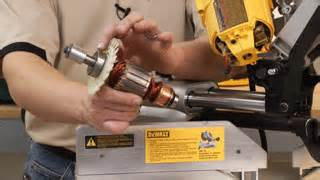 How To Remove And Replace The Armature On A Dewalt Dw718