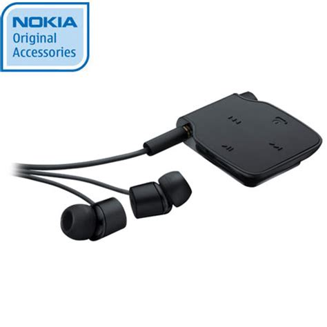 Headset Bluetooth Nokia Bh 111 Nokia Bluetooth Stereo Headset Bh 111 Black