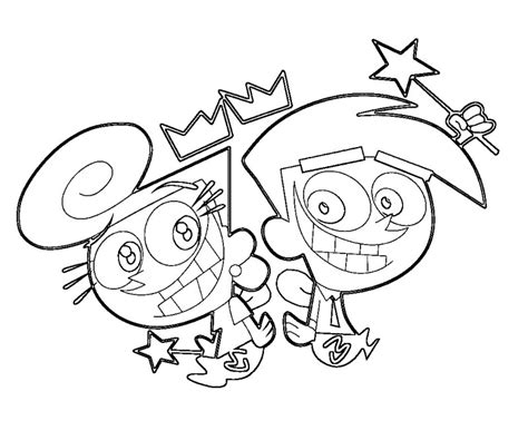 Fairly Odd Parents Coloring Book Az Coloring Pages The Fairly Oddparents Coloring Pages