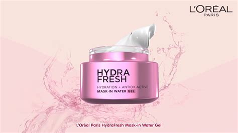 L Oreal Hydrafresh l or 233 al hydrafresh ronald fong