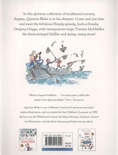 quentin blakes nursery rhyme quentin blake s nursery rhyme book by blake quentin 9781849416900 brownsbfs